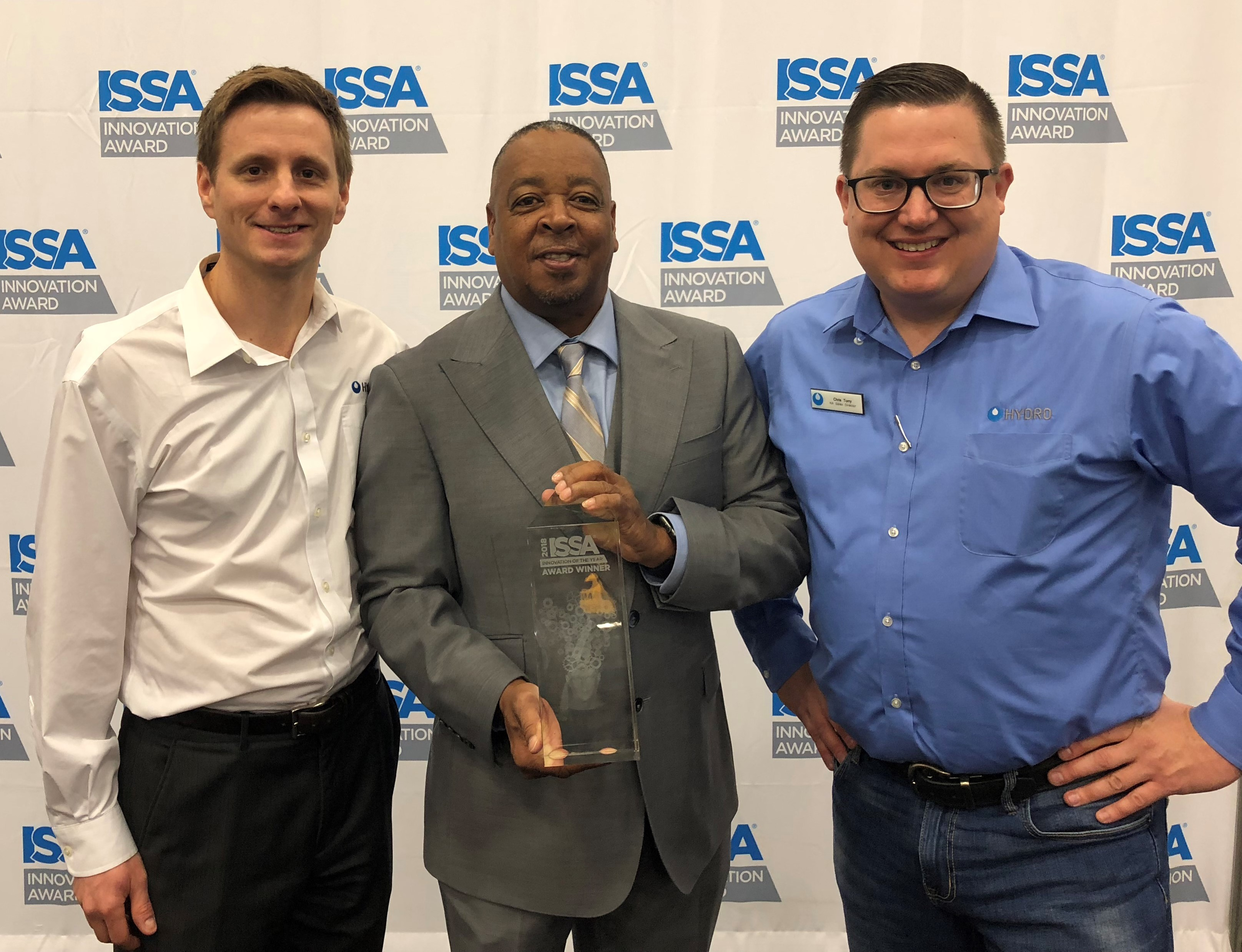 Hydro Systems - ISSA Innovation of the Year (4) - 11.05.18