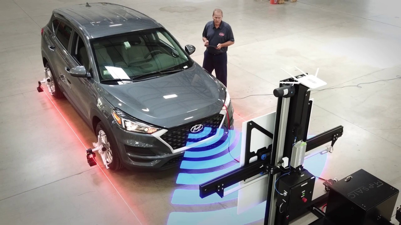 Automated Advanced Driver-Assistance Systems (ADAS) Calibration System