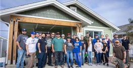Dow-Key Microwave Employees Volunteer With Local Habitat For Humanity