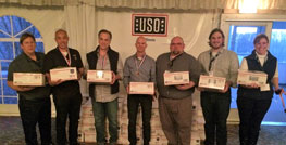 Dover Team Members Assemble Care Packages for USO of Illinois