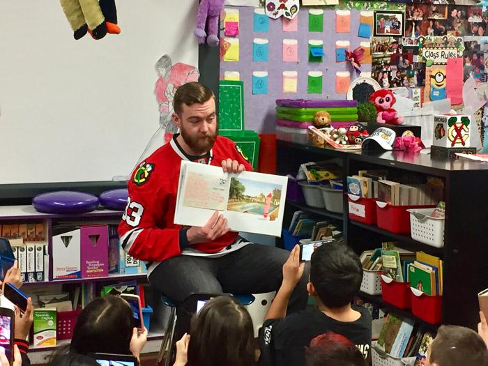 Blackhawks reading program 1