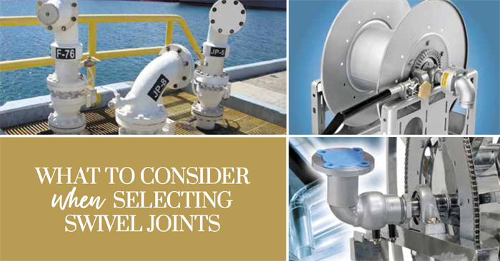 Selecting Swivel Joints